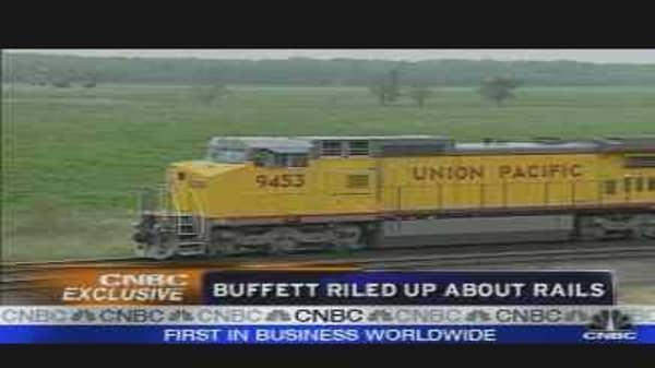 Buffett's Railroad Stake