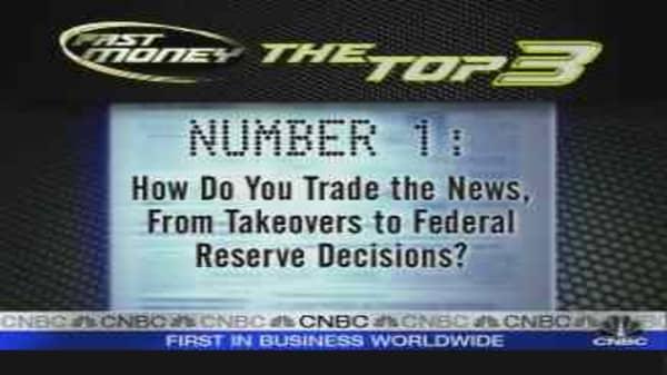 How Do You Trade The News?