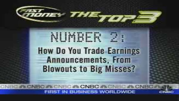 How Do You Trade Earnings?