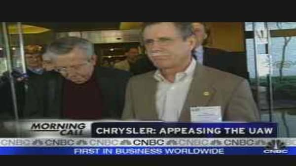 Chrysler: Appeasing the UAW