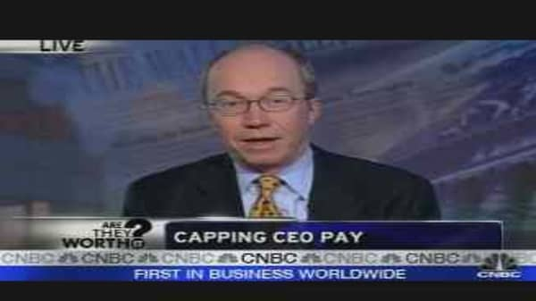 CEO Pay Caps