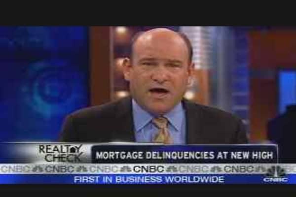 Mortgage Delinquencies Up