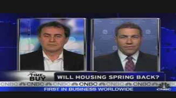 Will Housing Spring Back?