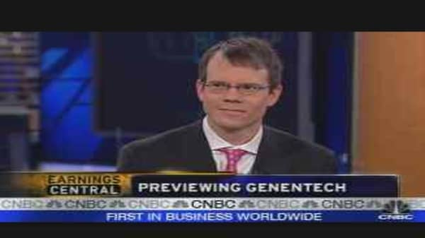 Genentech Earnings Preview