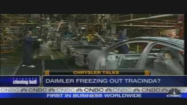 DaimlerChrysler Freezes Out Tracinda