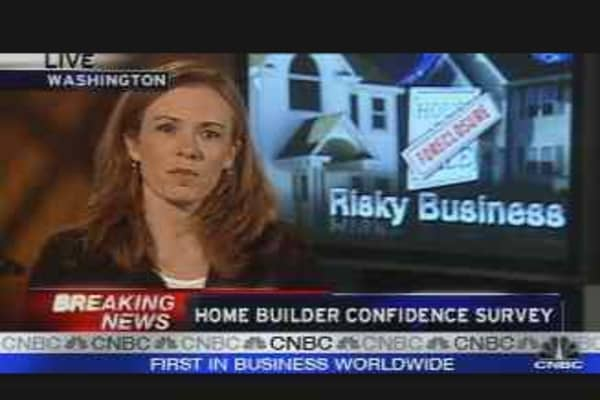 Realty Check: Homebuilder Confidence