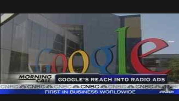 Google's Radio Ad Deal