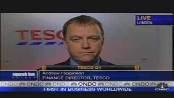 Tesco Beats Expectations