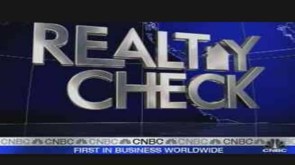 Realty Check: Housing Starts