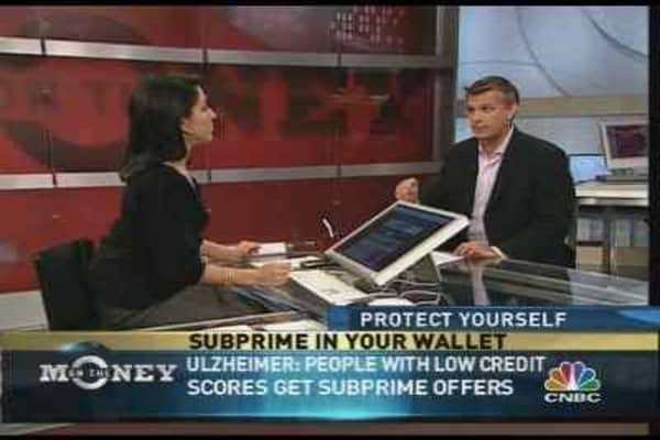 Subprime Credit Cards