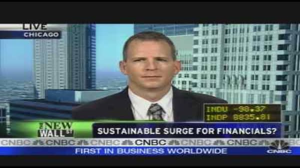 Sustainable Surge for Financials?