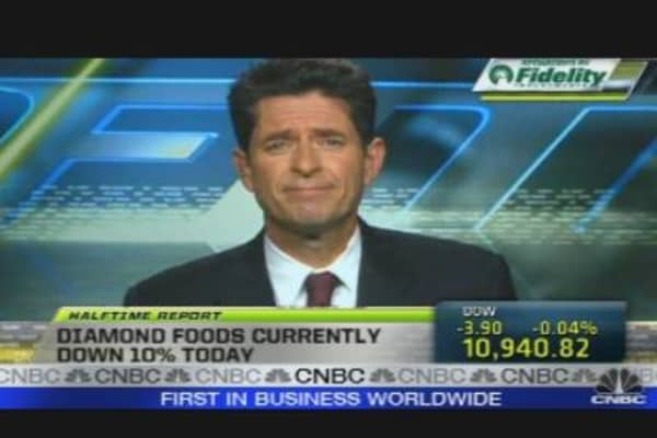 Diamond Foods CEO on Earnings, Outlook