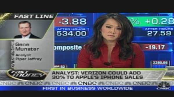 Apple Going to Verizon