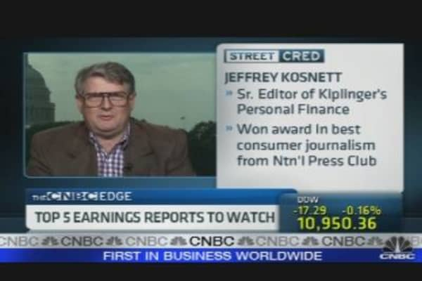 Top 5 Earnings Reports to watch