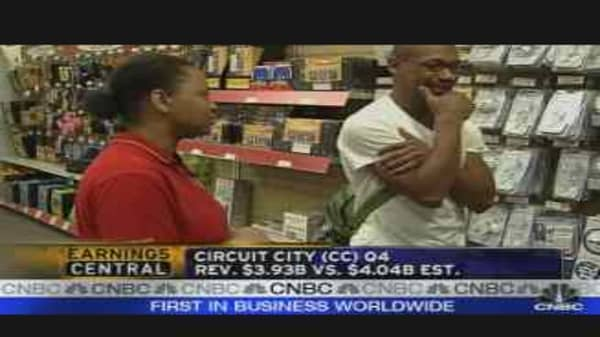Best Buy, Circuit City Results