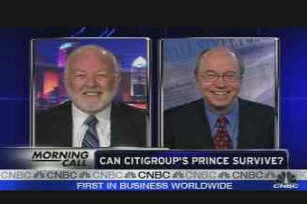 Can Citigroup's Prince Survive?