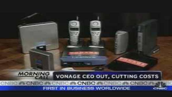 Vonage CEO Out