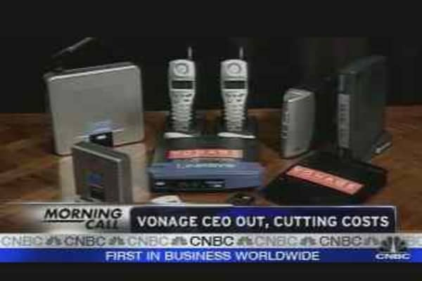 Vonage CEO Out
