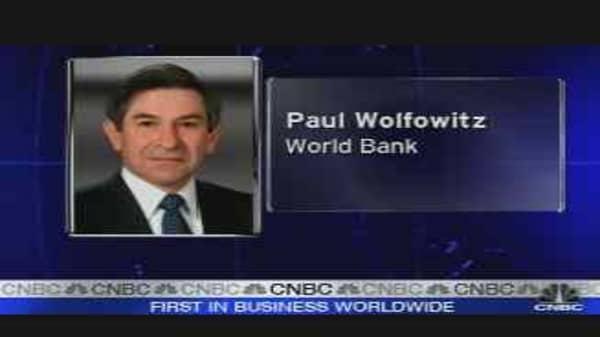 Wolfowitz to Go?