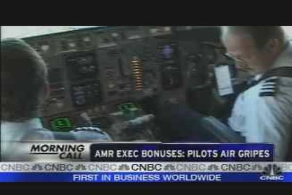 AMR Exec Bonuses