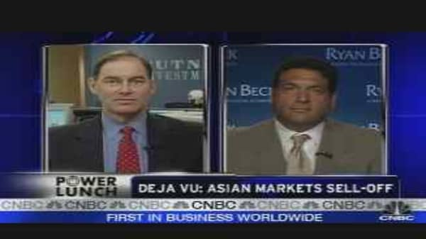 Asian Market Sell-Off
