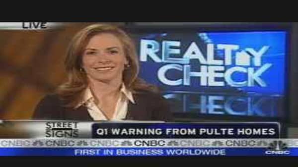 Realty Check: Pulte Problems