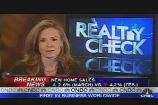 Realty Check: New Home Sales