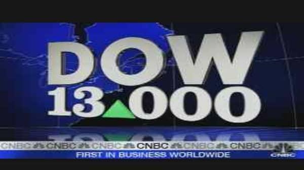 Dow 13,000