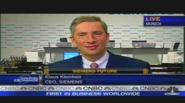 CNBC Exclusive: Siemens CEO