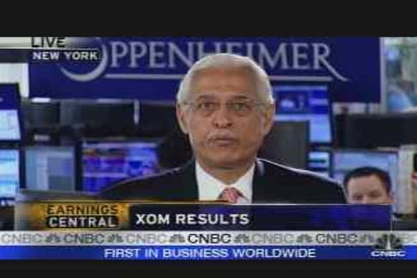 Exxon Earnings Reaction