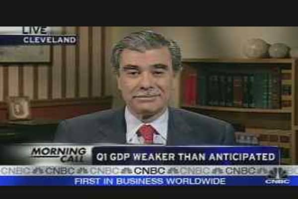 GDP Weaker Than Anticipated