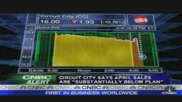 Circuit City Dive