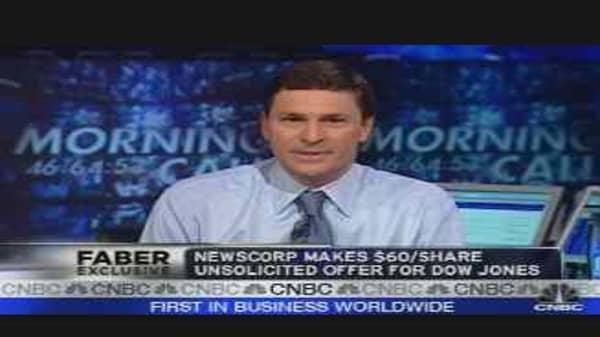 Faber Report: News Corp's Dow Jones Offer