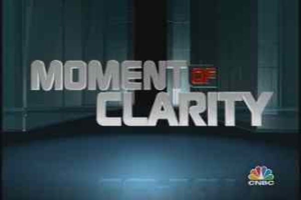 Moment of Clarity: Getting Ahead by Taking a Dive
