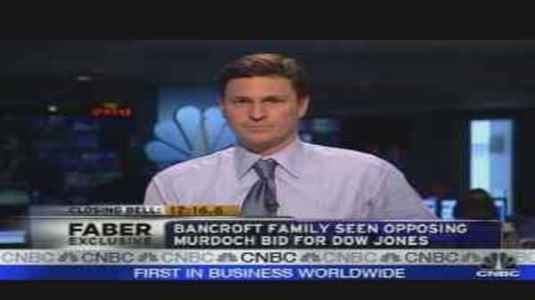 Faber Report: Bancroft Reaction