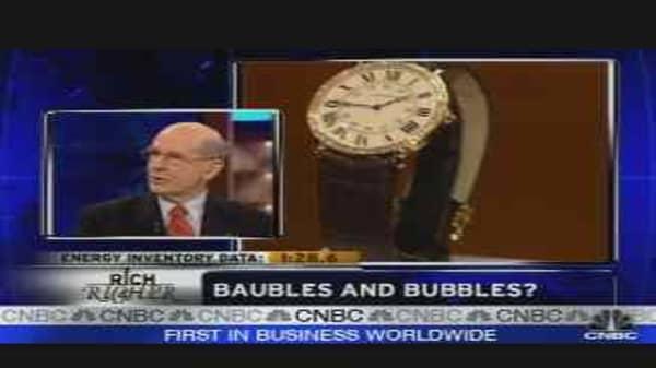 Bubble in the Luxury Market?
