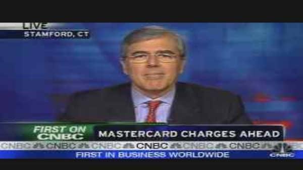 MasterCard CEO Speaks