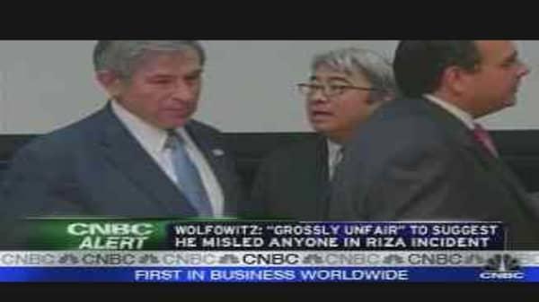 Wolfowitz Letter