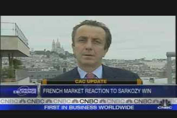 French Market Reaction to Sarkozy Win