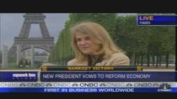 Sarkozy Victory