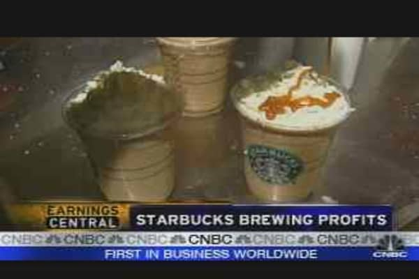 Starbucks Earnings & Outlook