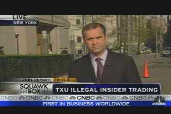 Insider Trading Bust