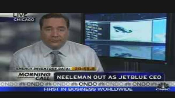 Neelman Out as JetBlue CEO