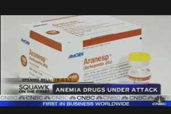 Anemia Drugs Under Attack