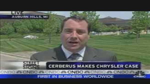 Cerberus Makes Chrysler Case