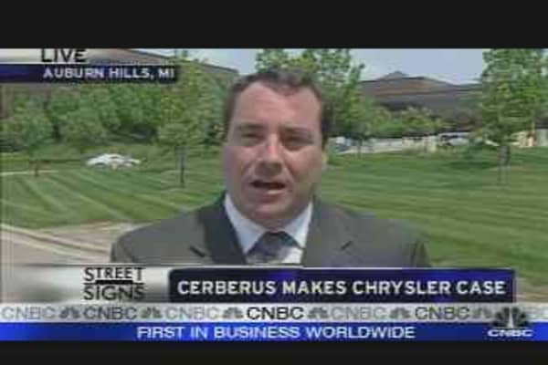 Cerberus Makes Chrysler Case