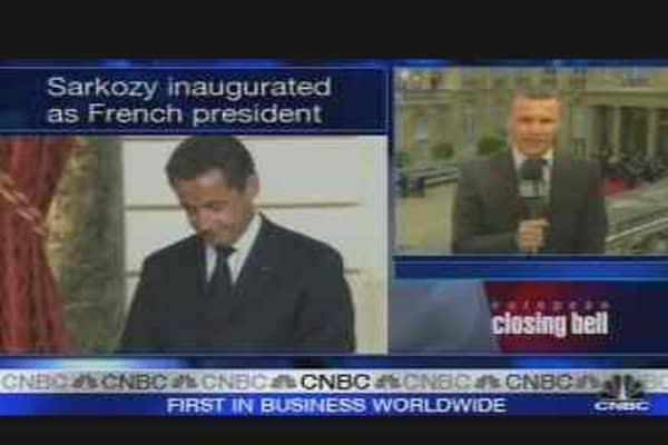 Sarkozy: France's New President