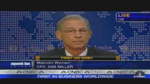 SABmiller CFO on Earnings