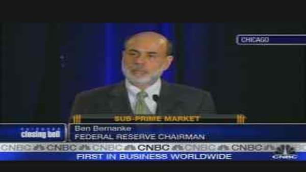 Fed Chairman Bernanke's Speech