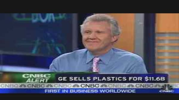GE to Sell Plastics Unit for $11 6 Billion, Use Proceeds for